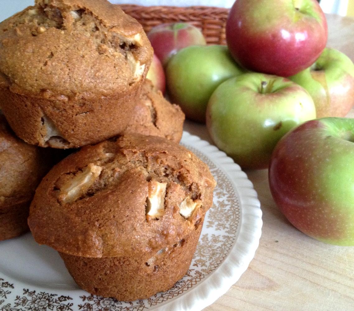 muffins aux pommes cuisine estudiantine. Black Bedroom Furniture Sets. Home Design Ideas