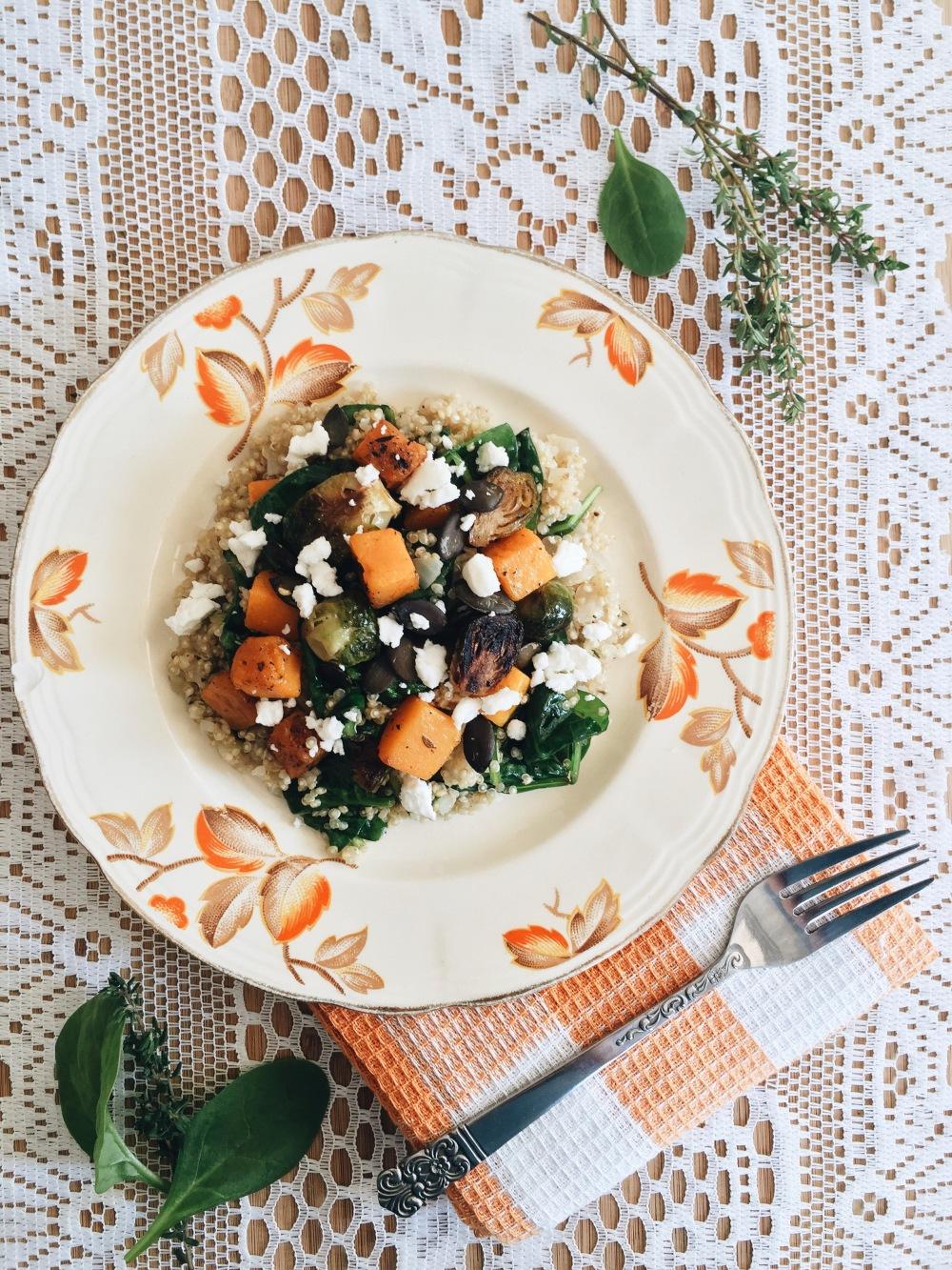 quinoa-epinard-courge-choux
