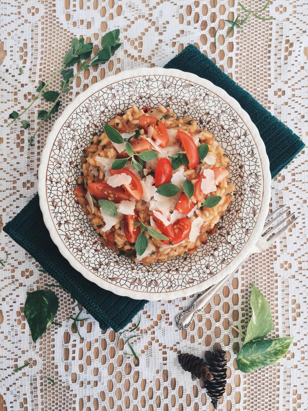 risotto-tomates