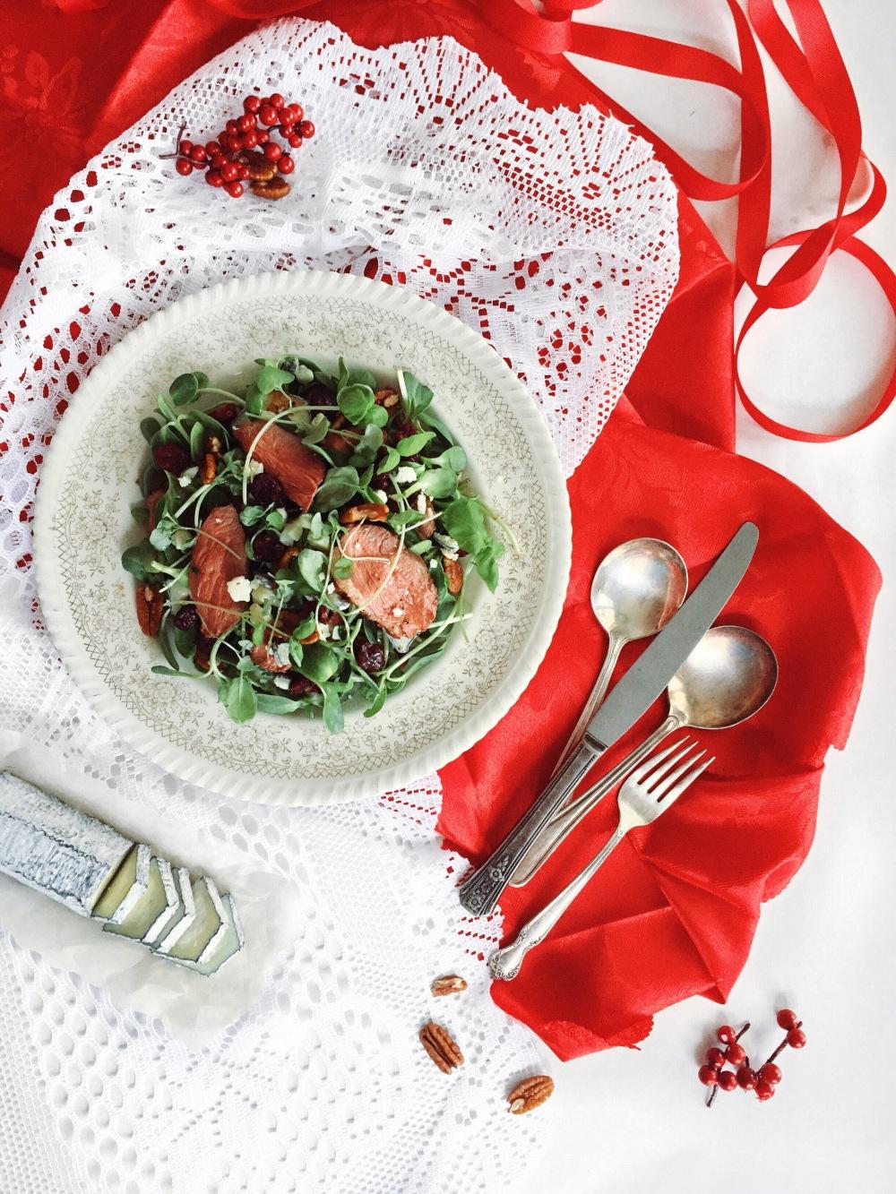 salade-canard-chevre-pincee