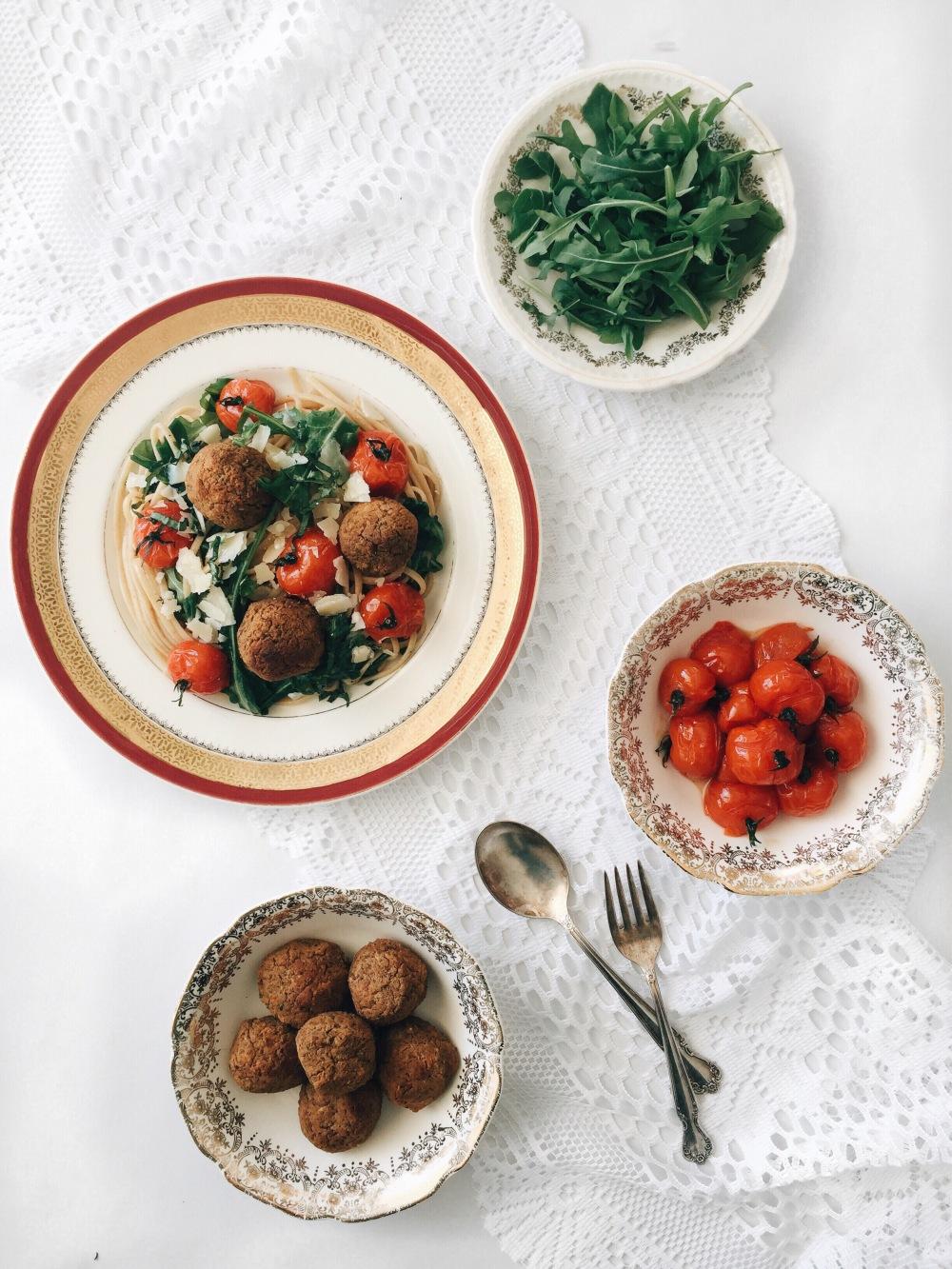 pates-tomates-boulette-lentille