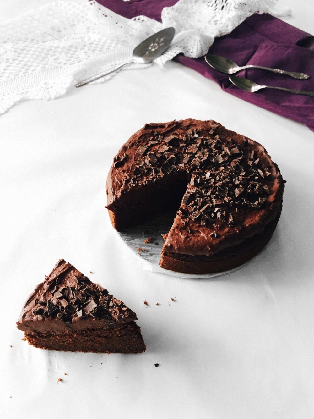 gâteau au chocolat santé et à la betterave végane Cuisine estudiantine