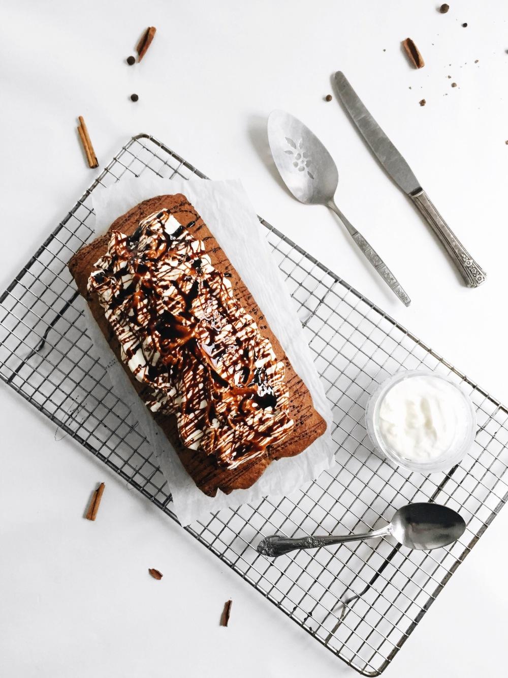 pain d'épices santé au yogourt et à la mélasse