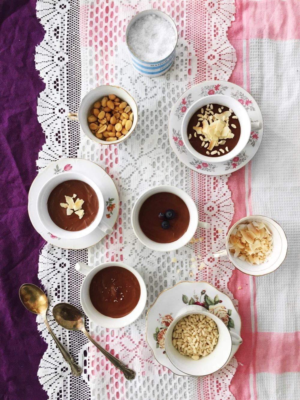 Mousse au chocolat santé express prête en 10 minutes