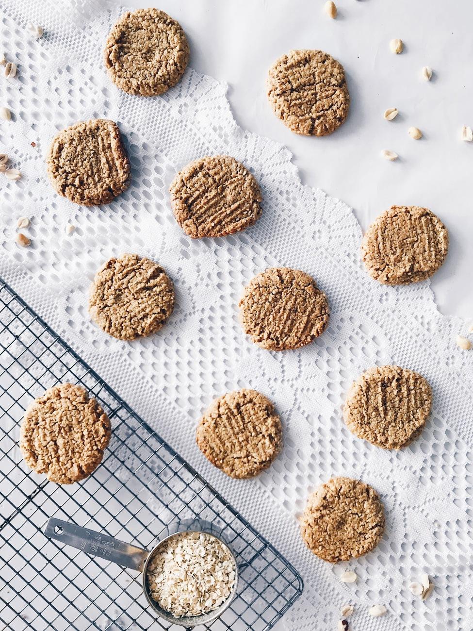 Les meilleurs biscuits au beurre d'arachide véganes et sans gluten